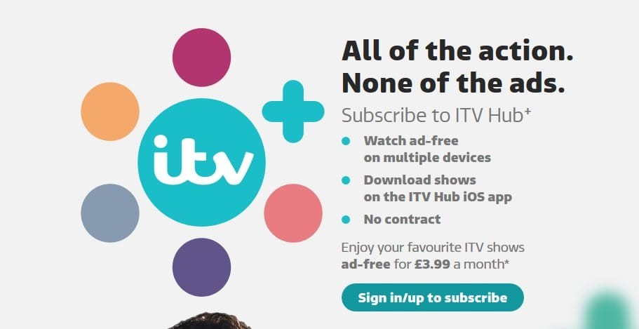 ITV without ads